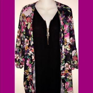 Avenue Tops - Colorful Beautiful blouse NWT Plus size 18-20